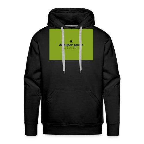 De super gamer - Mannen Premium hoodie