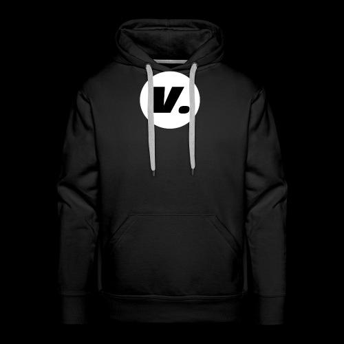 Ventura Black V Logo - Mannen Premium hoodie