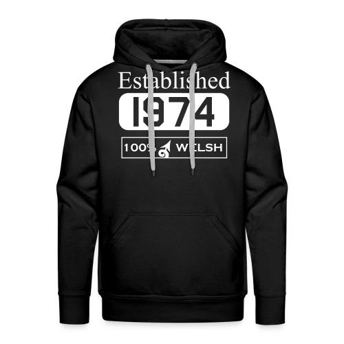 Established 1974 - Men's Premium Hoodie