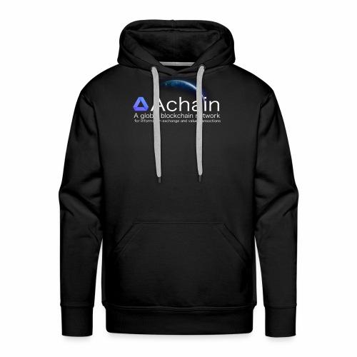 Achain, planet Earth - Felpa con cappuccio premium da uomo
