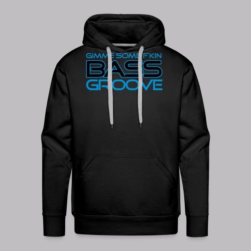 Bass Groove - Männer Premium Hoodie