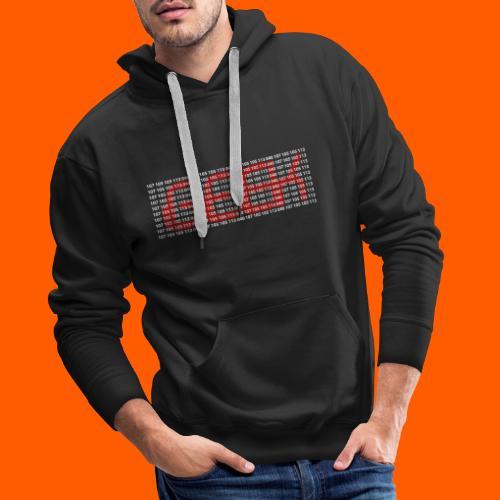 geekBl - Sweat-shirt à capuche Premium pour hommes
