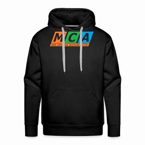 logo complet TRANSPARENT - Sweat-shirt à capuche Premium pour hommes
