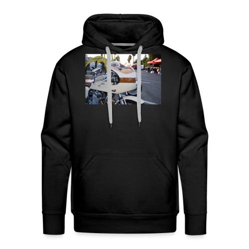 cafe racer - Sweat-shirt à capuche Premium pour hommes