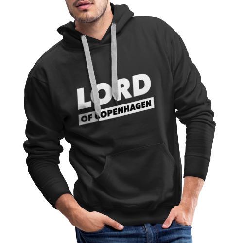 LORD of Copenhagen - Logo - Herre Premium hættetrøje