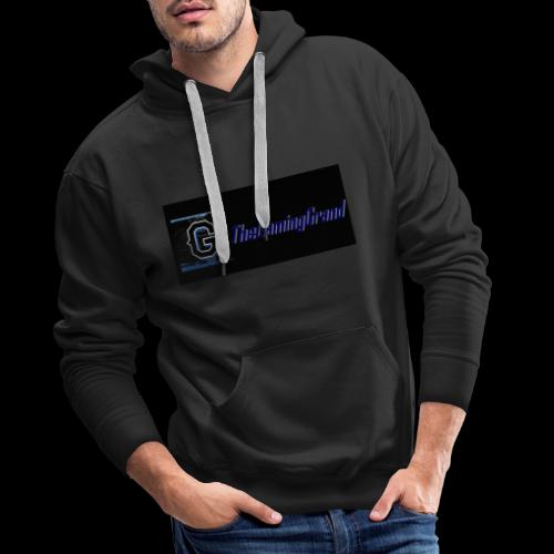 grand picture for black - Men's Premium Hoodie