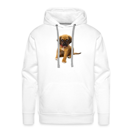 Süsses Haustier Welpe - Männer Premium Hoodie