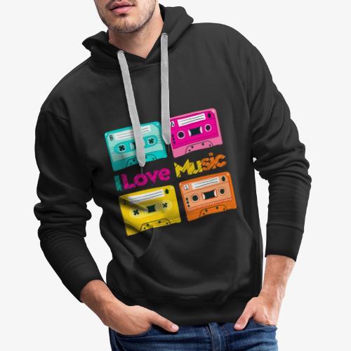 Cinta 1 - Sudadera con capucha premium para hombre
