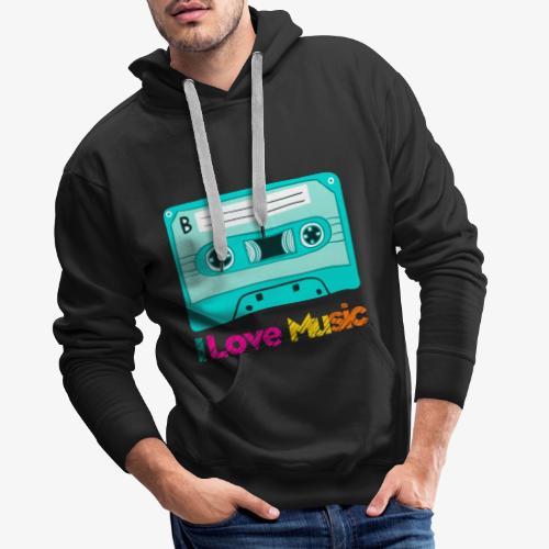 Cinta 2 - Sudadera con capucha premium para hombre