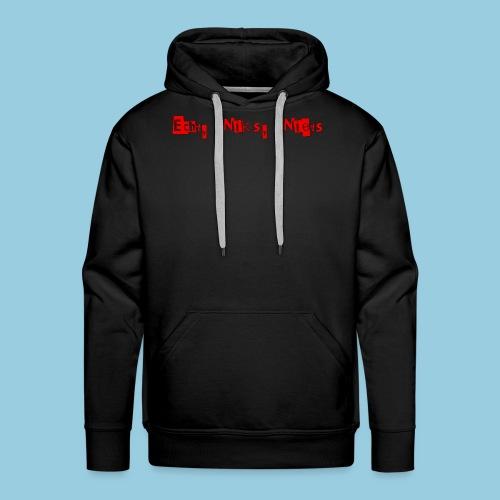 ECHT NIKS NIETS - Mannen Premium hoodie