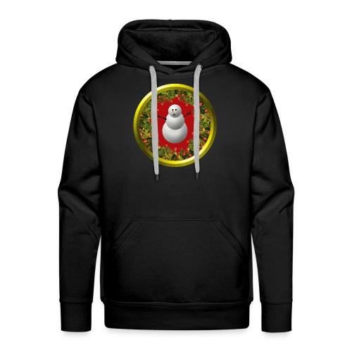 Snowman - Männer Premium Hoodie