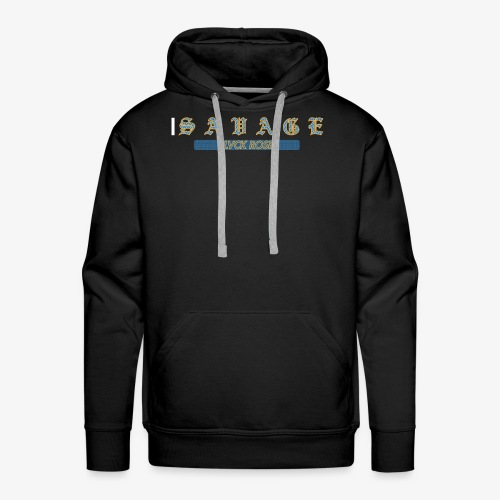 SAVGE1 - Bluza męska Premium z kapturem