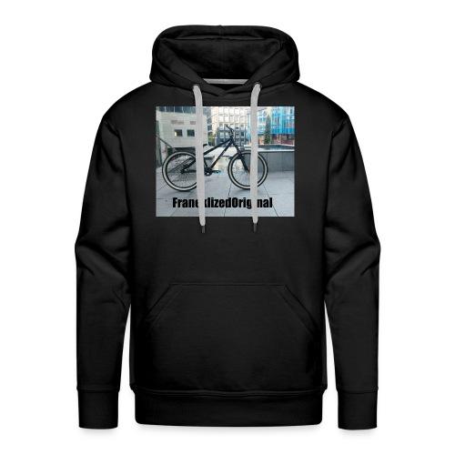 FranekLized original - Bluza męska Premium z kapturem