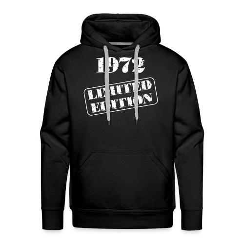Limited Edition 1972 - Männer Premium Hoodie