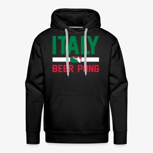 Italy Beer Pong - Männer Premium Hoodie