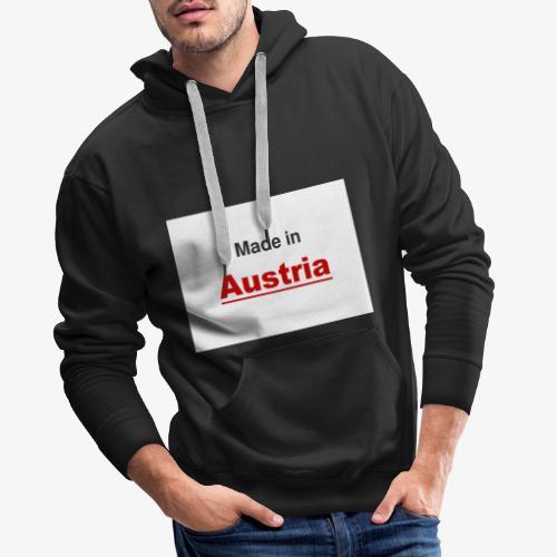 Made in Austria - Männer Premium Hoodie