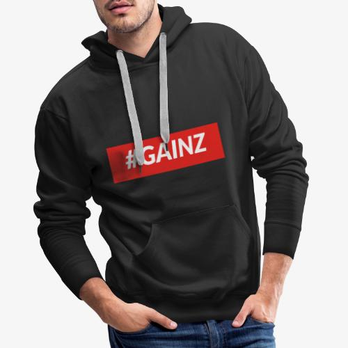 Gainz by Simon Mathis - Männer Premium Hoodie