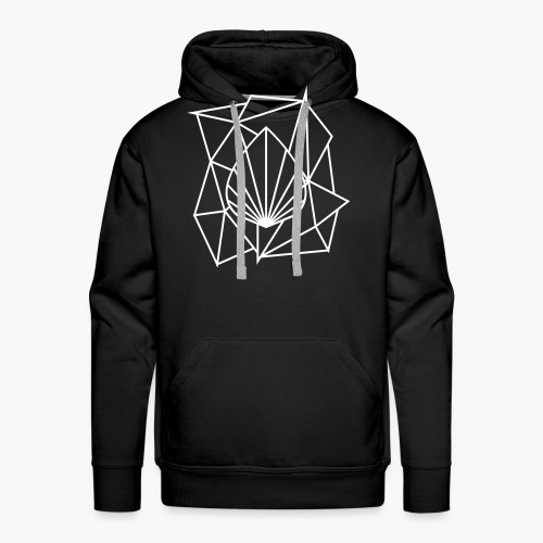Polygon Augmented Logo - Men's Premium Hoodie