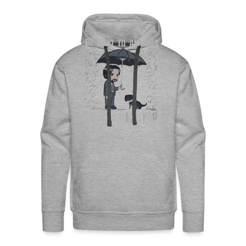 Be kind to animals or I'll kill you halloween - Men's Premium Hoodie