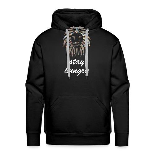 Stay Hungry T-shirt and accessoires - Felpa con cappuccio premium da uomo