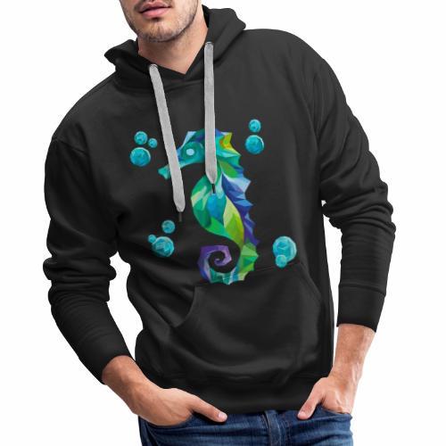 Seahorse - Sudadera con capucha premium para hombre
