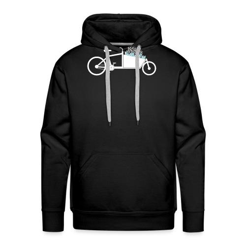 Lastenrad als Mannschaftswagen - Männer Premium Hoodie