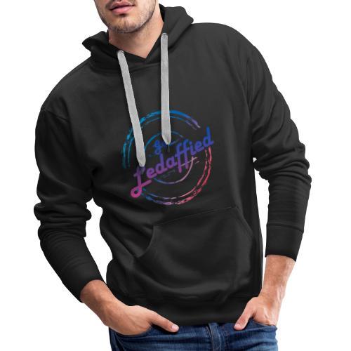 get ledaffied - Sweat-shirt à capuche Premium pour hommes