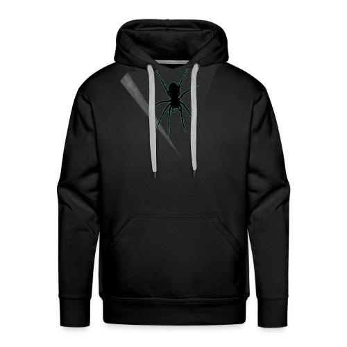 Spinne Neon-grün - Männer Premium Hoodie