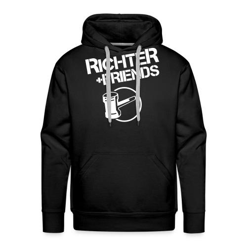 rf logo shirts - Männer Premium Hoodie