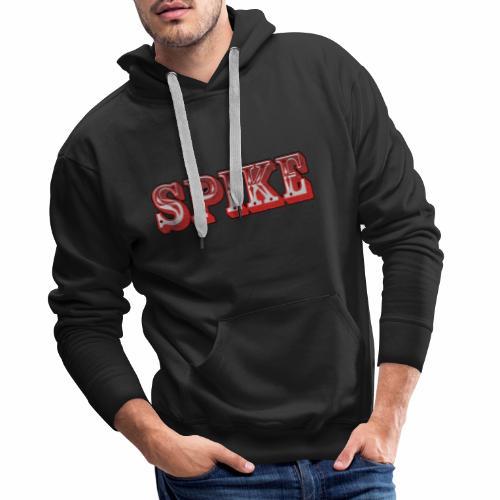Spike Design 1 - Felpa con cappuccio premium da uomo