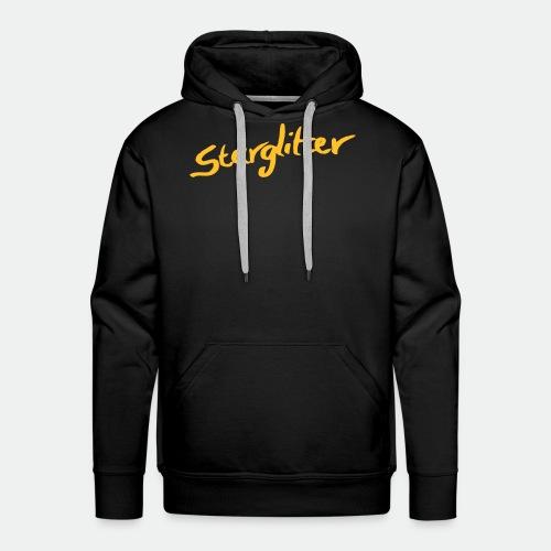 Starglitter - Lettering - Men's Premium Hoodie