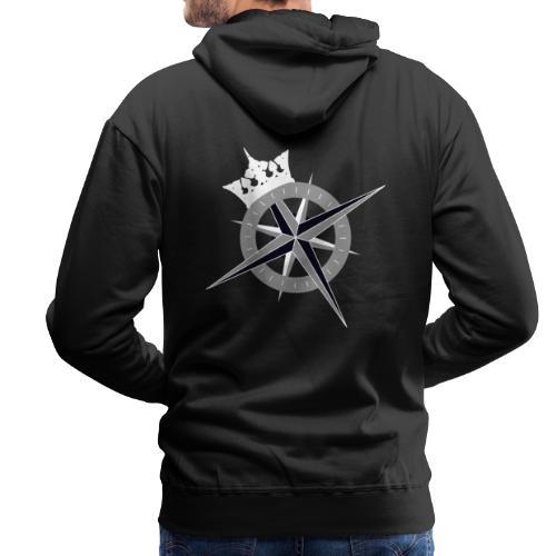 Cross on the back and Kings Fleet logo on front - Men's Premium Hoodie