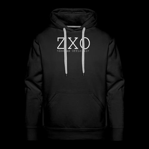 ZXO white - Men's Premium Hoodie