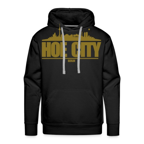 hoe city vektor - Männer Premium Hoodie