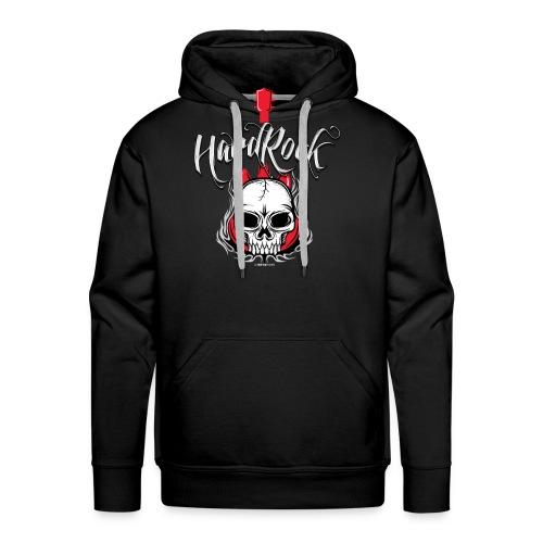 20-10 Hard Rock Skull Guitar - Textiles and gifts - Miesten premium-huppari