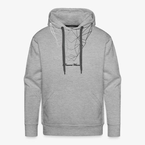 DreamWave Fox/Renard - Sweat-shirt à capuche Premium pour hommes