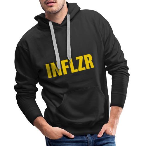INFLZR yellow - Männer Premium Hoodie
