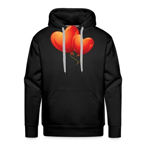 Malliot coeur - Sweat-shirt à capuche Premium pour hommes