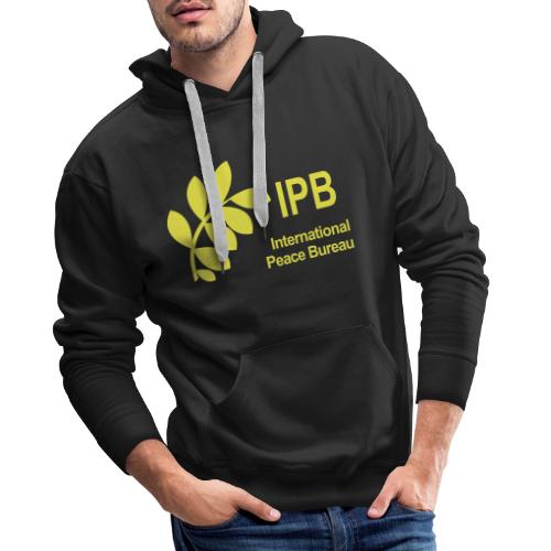 International Peace Bureau IPB Logo - Men's Premium Hoodie