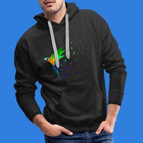 Limited Edition - Macaw - Men's Premium Hoodie
