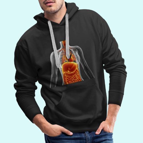 voues etes ici - Sweat-shirt à capuche Premium pour hommes