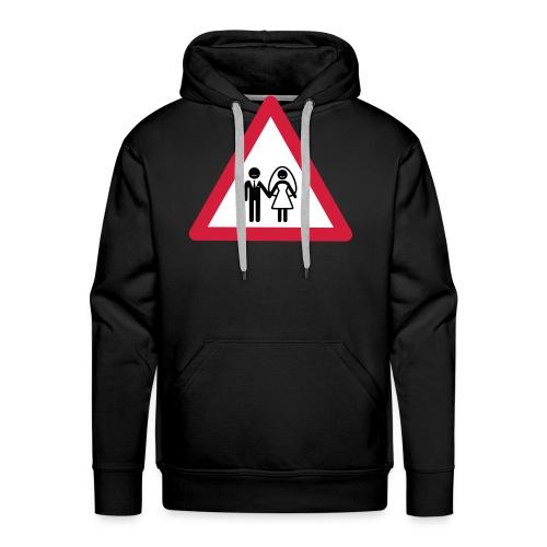 Danger Wedding - Sudadera con capucha premium para hombre
