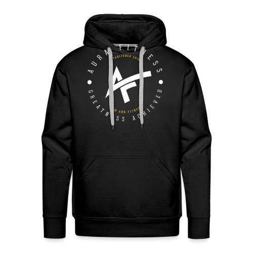 Aura Fitness BLACK/BLACK - Men's Premium Hoodie