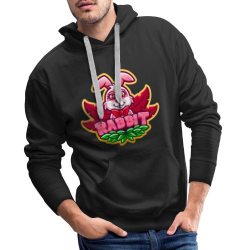 RABBIT T-SHIRT - Sweat-shirt à capuche Premium pour hommes