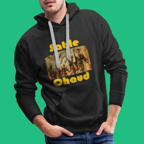 sable chaud6 - Sweat-shirt à capuche Premium pour hommes