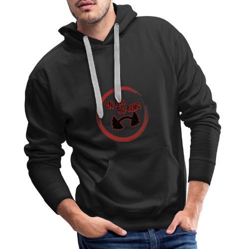 Goku is fake #Enbasdubloc - Sweat-shirt à capuche Premium pour hommes