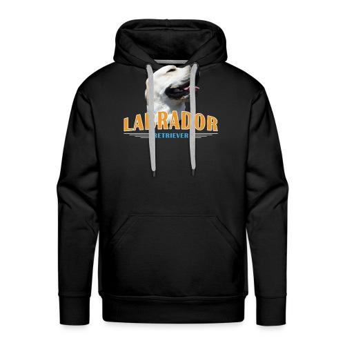 Labrador Tonko stolz - Männer Premium Hoodie