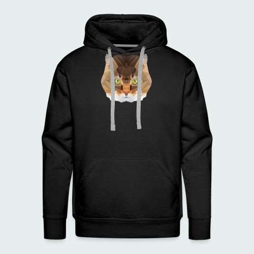 Polygon Cat - Men's Premium Hoodie
