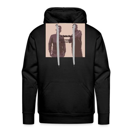 mig3 perfil - Sweat-shirt à capuche Premium pour hommes