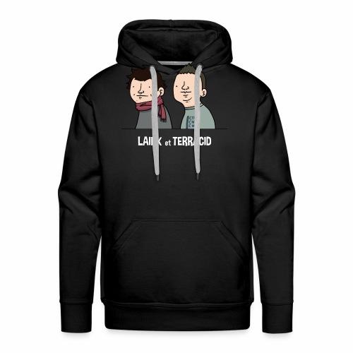 Laink et Terracid old - Sweat-shirt à capuche Premium pour hommes